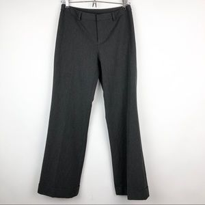 Nine West Petite Cyndi Dress Pant Trouser Gray